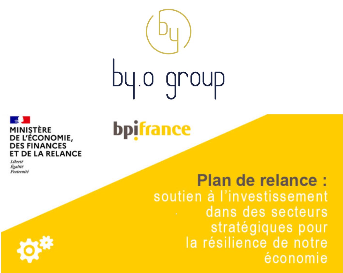 BY.O soutient les projets industriels liés à la relocalisation et aux filières nationales